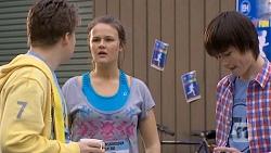 Callum Rebecchi, Josie Lamb, Bailey Turner in Neighbours Episode 6767