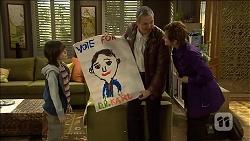 Jackson Bates, Karl Kennedy, Susan Kennedy in Neighbours Episode 6769