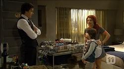 Mason Turner, Rhiannon Bates, Jackson Bates in Neighbours Episode 6769