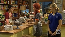 Margie Chan, Rhiannon Bates, Georgia Brooks in Neighbours Episode 6769