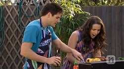 Chris Pappas, Kate Ramsay in Neighbours Episode 6770