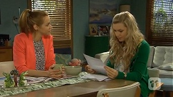 Gemma Reeves, Georgia Brooks in Neighbours Episode 6771