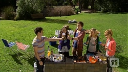 Chris Pappas, Kate Ramsay, Kyle Canning, Georgia Brooks, Gemma Reeves in Neighbours Episode 6771
