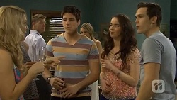 Georgia Brooks, Chris Pappas, Kate Ramsay, Josh Willis in Neighbours Episode 6772