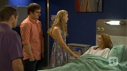 Toadie Rebecchi, Kyle Canning, Georgia Brooks, Sonya Mitchell in Neighbours Episode 6772