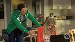 Josh Willis, Amber Turner in Neighbours Episode 6773