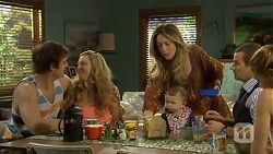Kyle Canning, Georgia Brooks, Sonya Mitchell, Nell Rebecchi, Toadie Rebecchi, Gemma Reeves in Neighbours Episode 6774