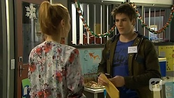 Gemma Reeves, Chris Pappas in Neighbours Episode 6774