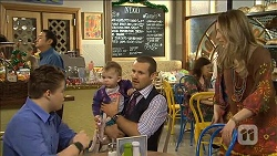 Callum Jones, Nell Rebecchi, Toadie Rebecchi, Sonya Mitchell in Neighbours Episode 6775