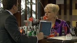 Paul Robinson, Sheila Canning in Neighbours Episode 6777