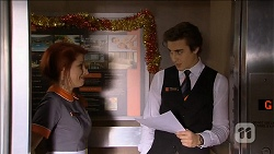 Rhiannon Bates, Mason Turner in Neighbours Episode 6777