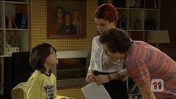 Jackson Bates, Rhiannon Bates, Mason Turner in Neighbours Episode 6777