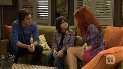 Mason Turner, Jackson Bates, Rhiannon Bates in Neighbours Episode 6779