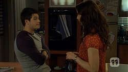 Chris Pappas, Kate Ramsay in Neighbours Episode 6779