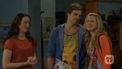 Kate Ramsay, Kyle Canning, Georgia Brooks in Neighbours Episode 6779