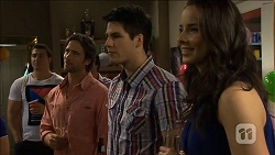 Brad Willis, Chris Pappas, Kate Ramsay in Neighbours Episode 6780