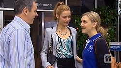 Karl Kennedy, Gemma Reeves, Georgia Brooks in Neighbours Episode 6782