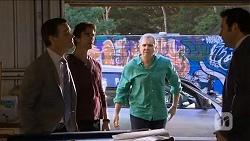 Paul Robinson, Brad Willis, Karl Kennedy, Peter Slattery in Neighbours Episode 6783