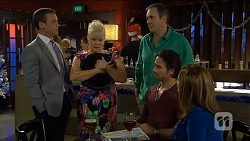 Paul Robinson, Sheila Canning, Karl Kennedy, Brad Willis, Terese Willis in Neighbours Episode 6783