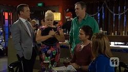 Paul Robinson, Sheila Canning, Karl Kennedy, Brad Willis, Terese Willis in Neighbours Episode 6783