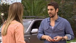 Sonya Mitchell, Jacob Holmes in Neighbours Episode 6784