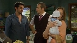 Jacob Holmes, Toadie Rebecchi, Elliott Holmes, Sonya Mitchell in Neighbours Episode 6784
