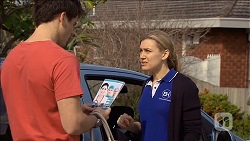 Chris Pappas, Georgia Brooks in Neighbours Episode 6785