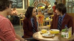 Mason Turner, Imogen Willis, Bailey Turner in Neighbours Episode 6786