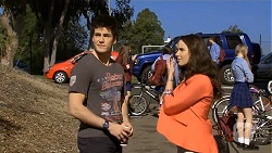 Chris Pappas, Kate Ramsay in Neighbours Episode 6786