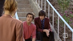 Gemma Reeves, Mason Turner, Bailey Turner in Neighbours Episode 6786