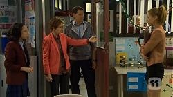 Imogen Willis, Susan Kennedy, Matt Turner, Gemma Reeves in Neighbours Episode 6786