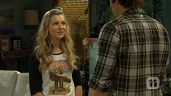 Georgia Brooks, Kyle Canning in Neighbours Episode 6786