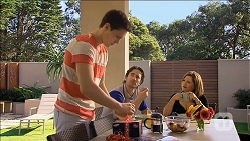Josh Willis, Brad Willis, Terese Willis in Neighbours Episode 6788
