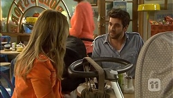 Sonya Mitchell, Jacob Holmes in Neighbours Episode 6789