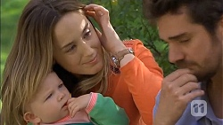 Nell Rebecchi, Sonya Mitchell, Jacob Holmes in Neighbours Episode 6789