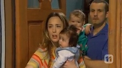 Sonya Rebecchi, Elliott Holmes, Nell Rebecchi, Toadie Rebecchi in Neighbours Episode 6789