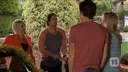 Lucy Robinson, Brad Willis, Mason Turner, Lauren Turner in Neighbours Episode 6790
