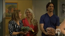 Terese Willis, Lucy Robinson, Brad Willis in Neighbours Episode 6790