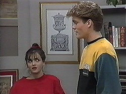 Caroline Alessi, Adam Willis in Neighbours Episode 1268