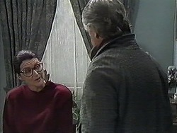 Dorothy Burke, Clarrie McLachlan in Neighbours Episode 1268