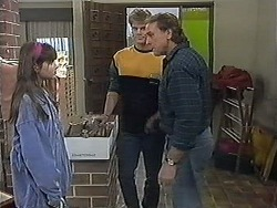 Cody Willis, Adam Willis, Doug Willis in Neighbours Episode 1268