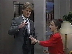 Adam Willis, Caroline Alessi in Neighbours Episode 1268