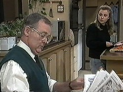 Harold Bishop, Gemma Ramsay in Neighbours Episode 1269