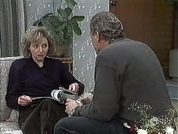 Beverly Robinson, Jim Robinson in Neighbours Episode 1269
