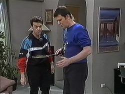 Paul Robinson, Des Clarke in Neighbours Episode 1270