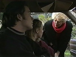 Matt Robinson, Gemma Ramsay, Madge Bishop in Neighbours Episode 1270