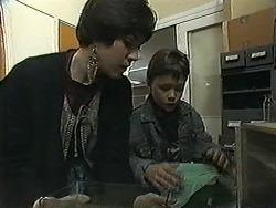 Kerry Bishop, Toby Mangel in Neighbours Episode 1270