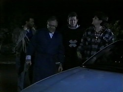 Eddie Buckingham, Harold Bishop, Des Clarke, Joe Mangel in Neighbours Episode 1271
