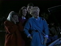 Helen Daniels, Dorothy Burke, Des Clarke, Madge Bishop in Neighbours Episode 1271