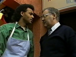 Eddie Buckingham, Harold Bishop in Neighbours Episode 1271